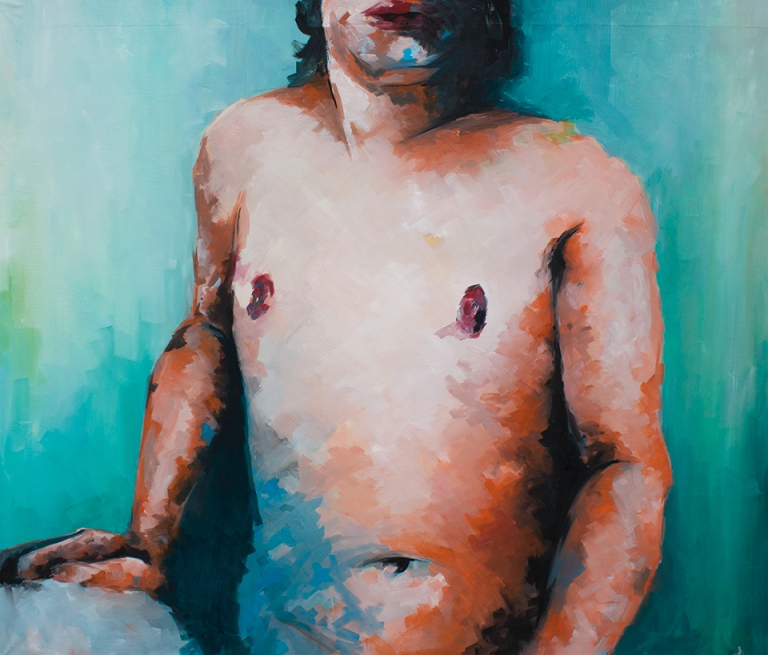 selfportrait-110x100-oil-on-canvas-2012