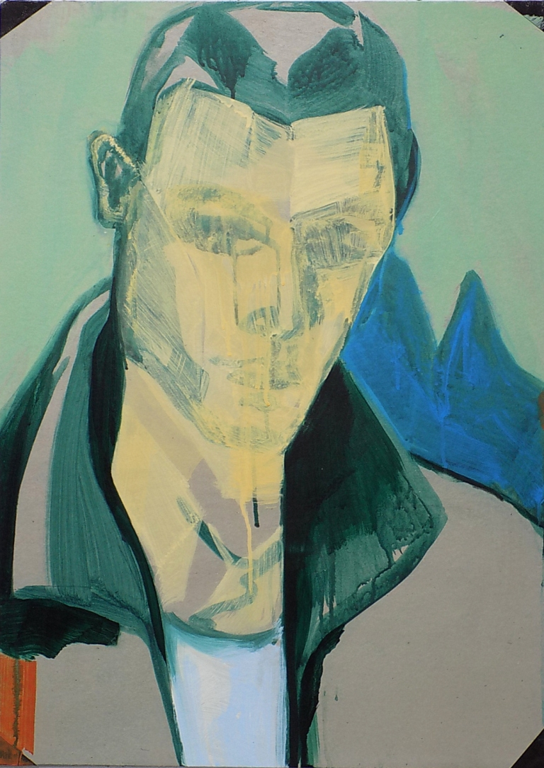 Jan Ziegler, clone III, 2016, acrylic on cardboard, 71x50,5 cm (1)
